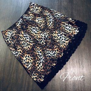 Victoria's Secret Satin & Lace Slip Skirt